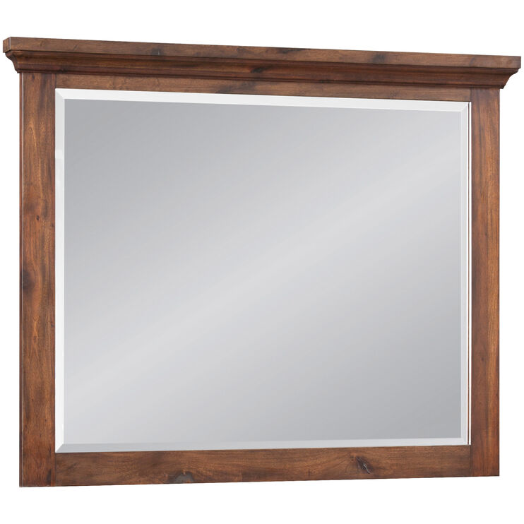 Hill Crest Dark Chestnut Mirror