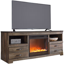 Trinell TV Console with Fireplace