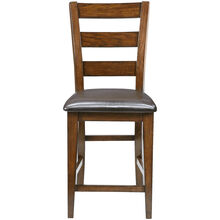 Brook Medium Oak Counter Stool