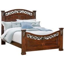 Compton Cherry Queen Bed