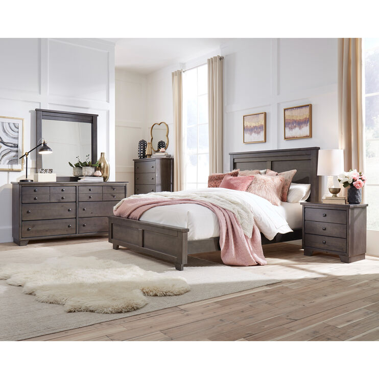 Diego Gray 4 Piece King Package
