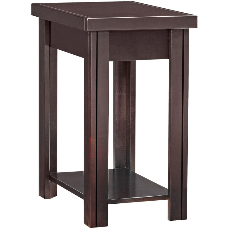 Lockwood Mocha Chairside Table