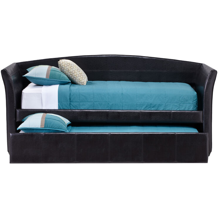Parsons Brown Daybed with Trundle