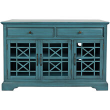 Chilton Antique Blue 50 Inch Console