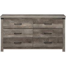 Gambrel Driftwood Dresser