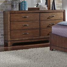 Avalon Brown Dresser
