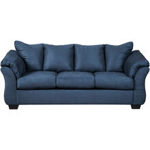 Marcy Blue Sofa