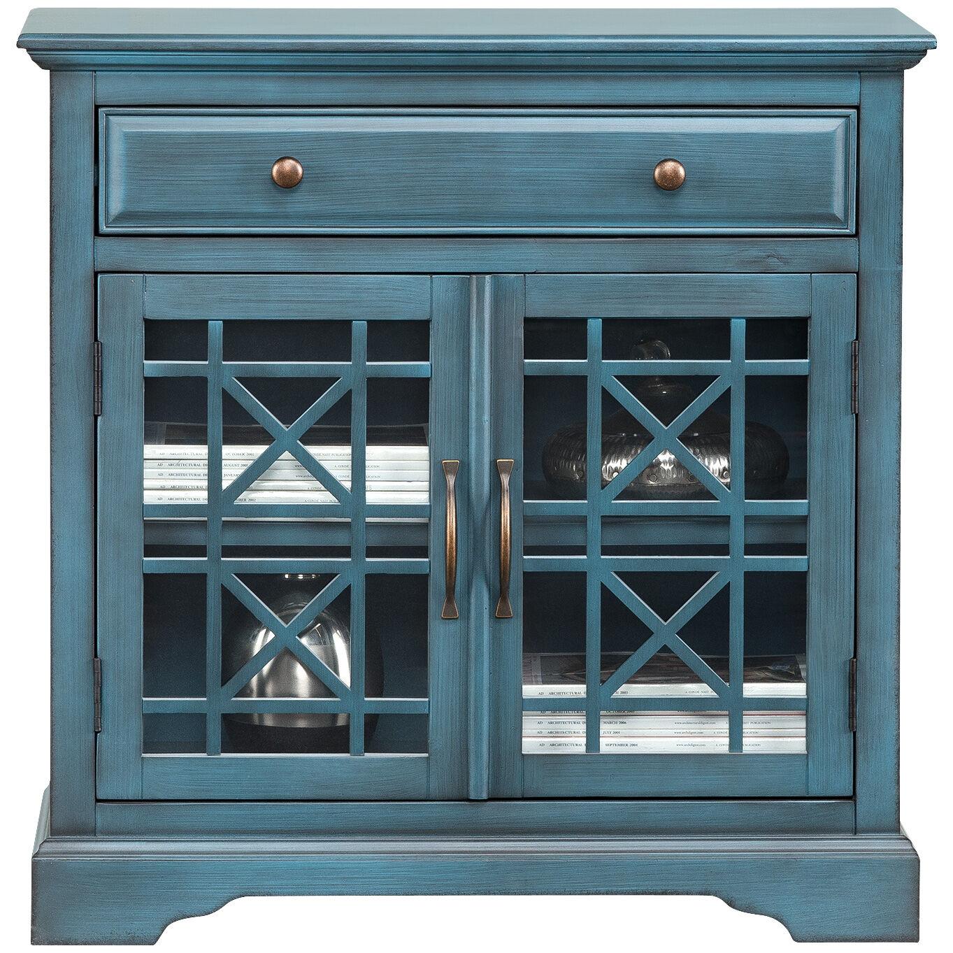 Chilton Antique Blue Cabinet; Chilton Antique Blue Cabinet ...