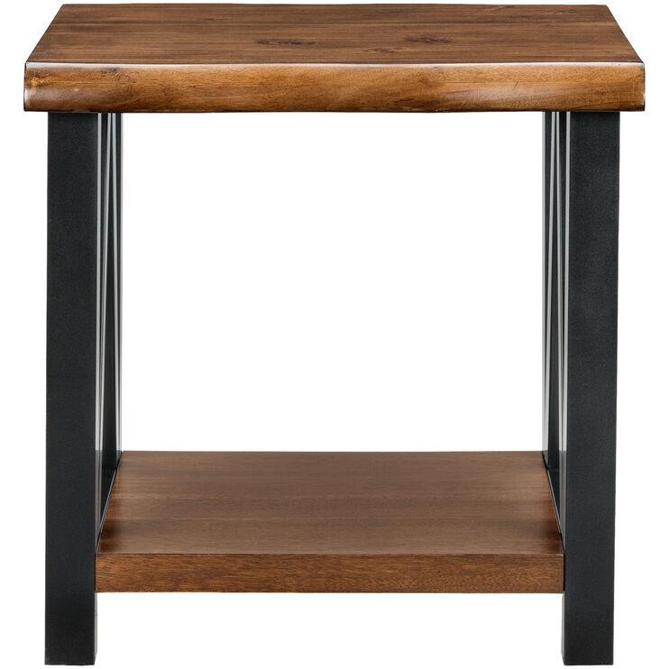 Esmarina Walnut End Table