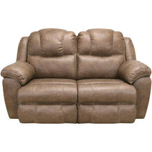 Rufford Tan Rocking Reclining Loveseat