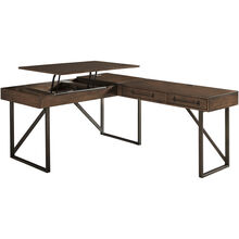 Starmore Brown 2 Piece Lift Top Desk
