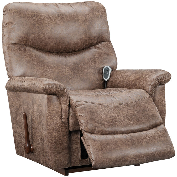James Silt Heat & Massage Recliner