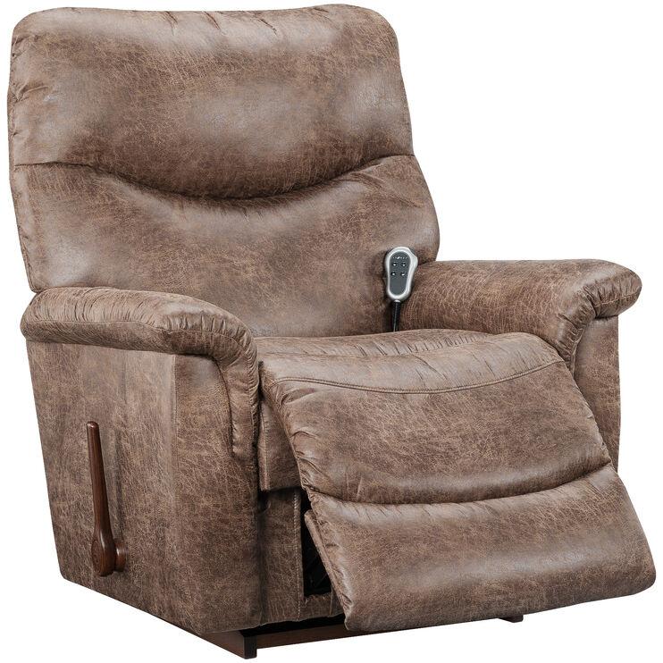 Slumberland Furniture James Silt Heat Massage Recliner
