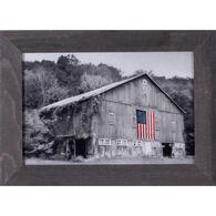 Reclaimed Artwork Patriotic Farm II