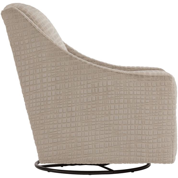 Fine Regan Jute Swivel Glider Accent Chair Slumberland Furniture Evergreenethics Interior Chair Design Evergreenethicsorg