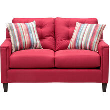 Platte Red Loveseat