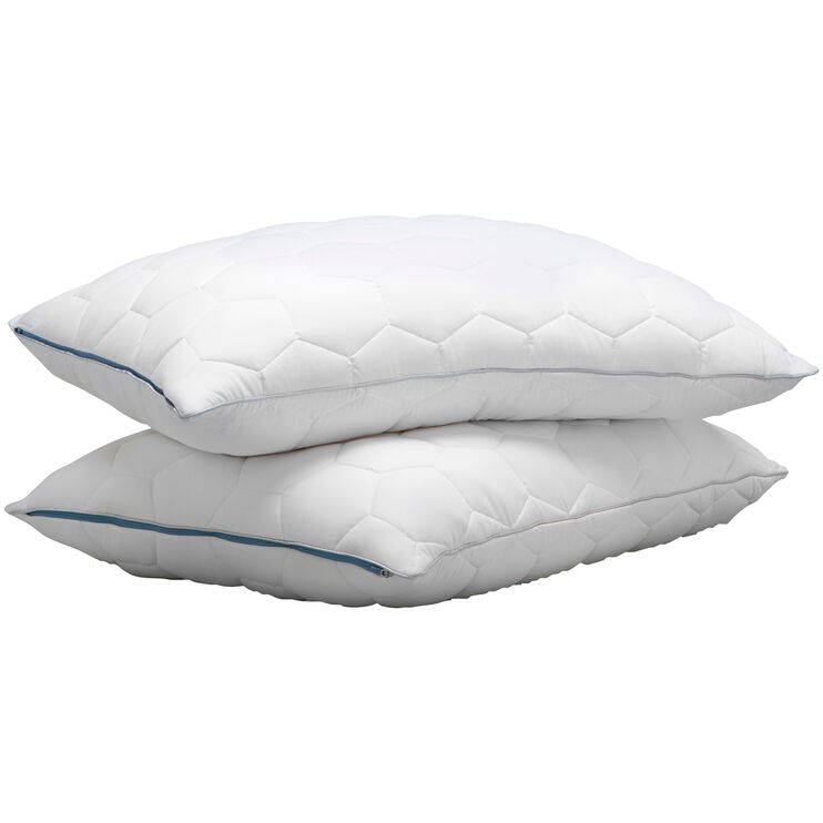 SHEEX Aero Fit Bright White Queen Back Sleeper Pillow