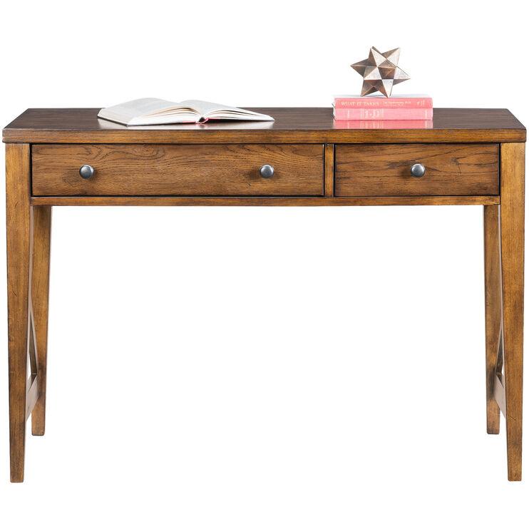 Hearthstone Rustic Oak Desk