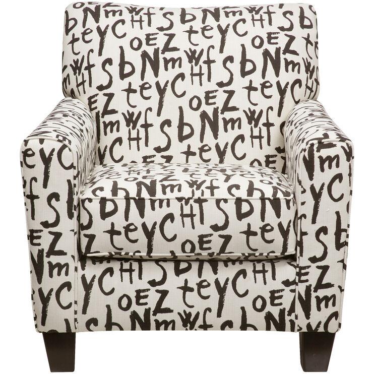 Aero Graffiti Accent Chair