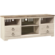 Willowton White 64 Inch TV Stand