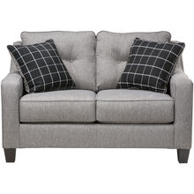 Aero Charcoal Loveseat