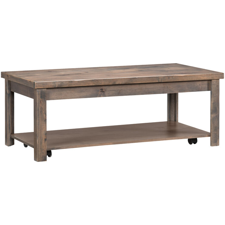 Joshua Creek Barnwood Castered Coffee Table