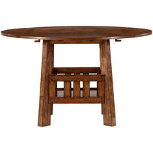Brook Medium Oak Counter Dining Table