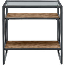 Galaway Asymmetric End Table