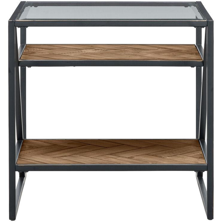 Galaway Asymmetric End Table