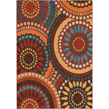 Veranda Merrifield Orange 8 x 11 Rug