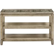 Casa Bella Silver Console Table