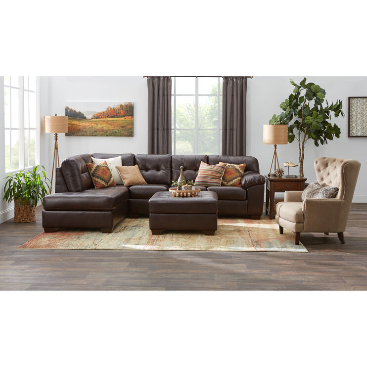 Pinner Chocolate Sectional