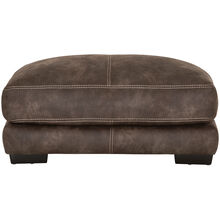 Monza Brown Rectangle Ottoman