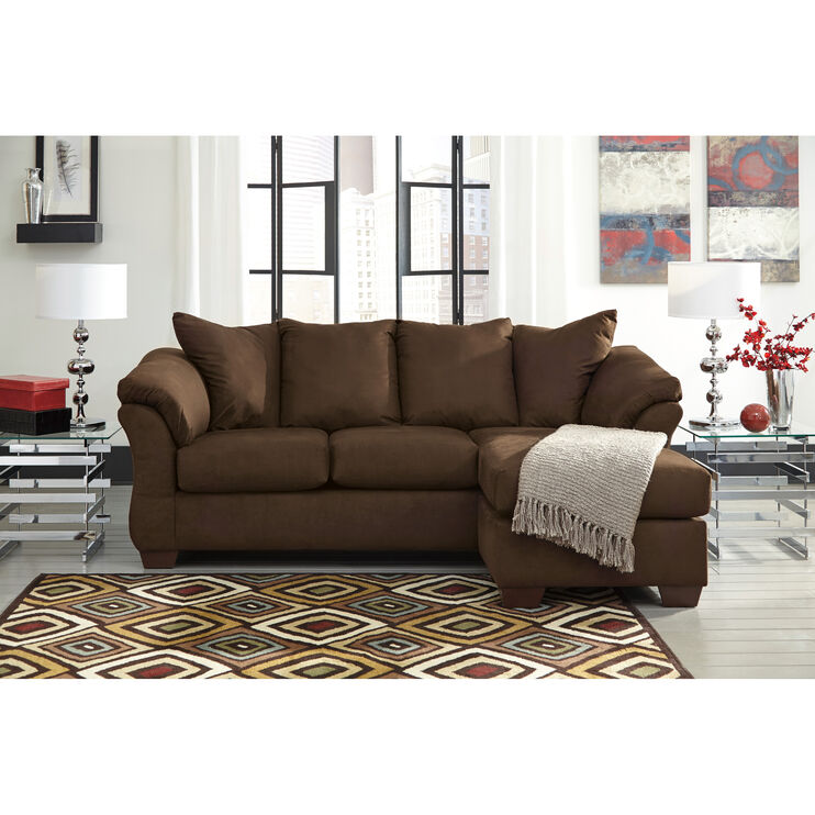 Marcy Cafe Chaise Sofa