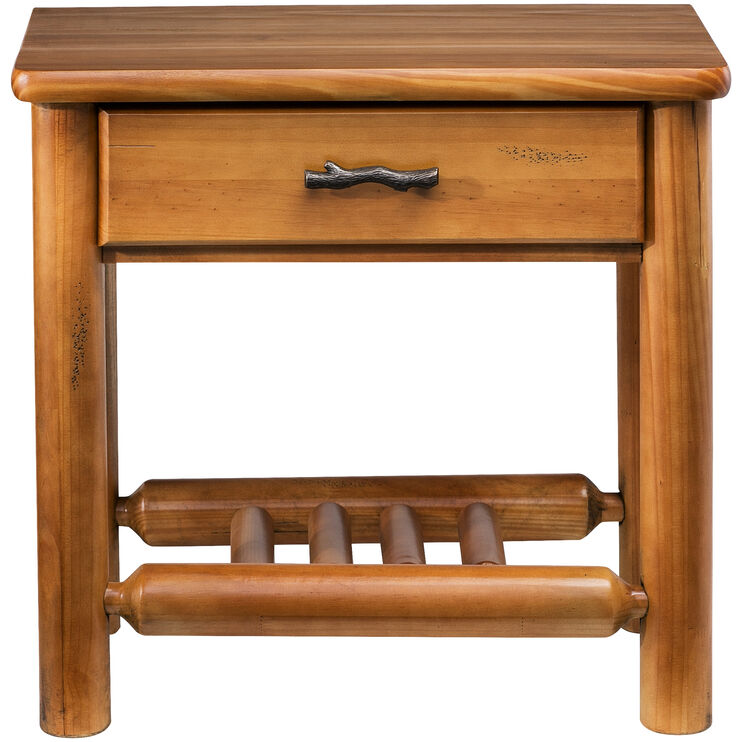 Timber Creek Pine 1 Drawer Nightstand