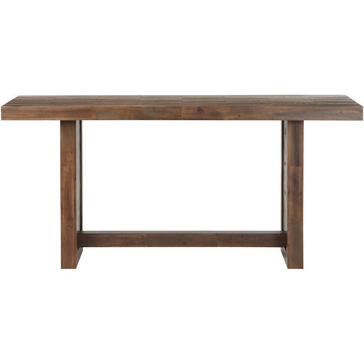 Rye Rustic Brown Counter Height Table