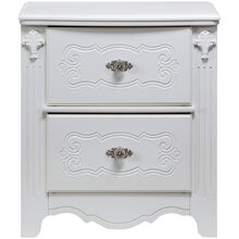 Exquisite White NIghtstand