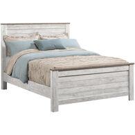 Willowton Whitewash King Bed