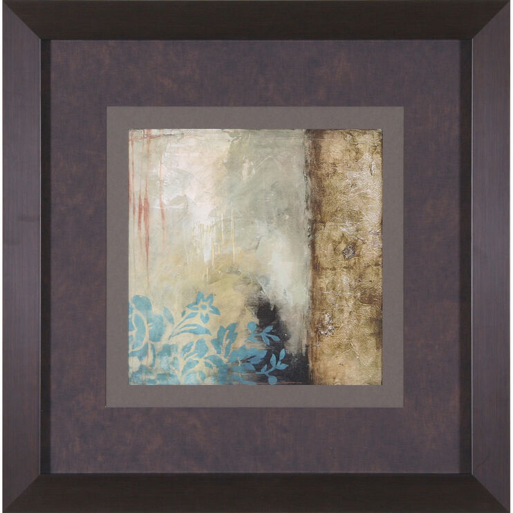 Teal Patina III Framed Art