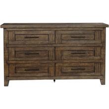 Broyhill Pieceworks Pecan Dresser