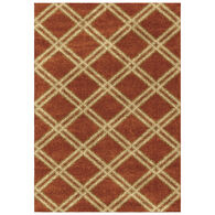 Majestic Diamonds Rouge 8 x 11 Rug