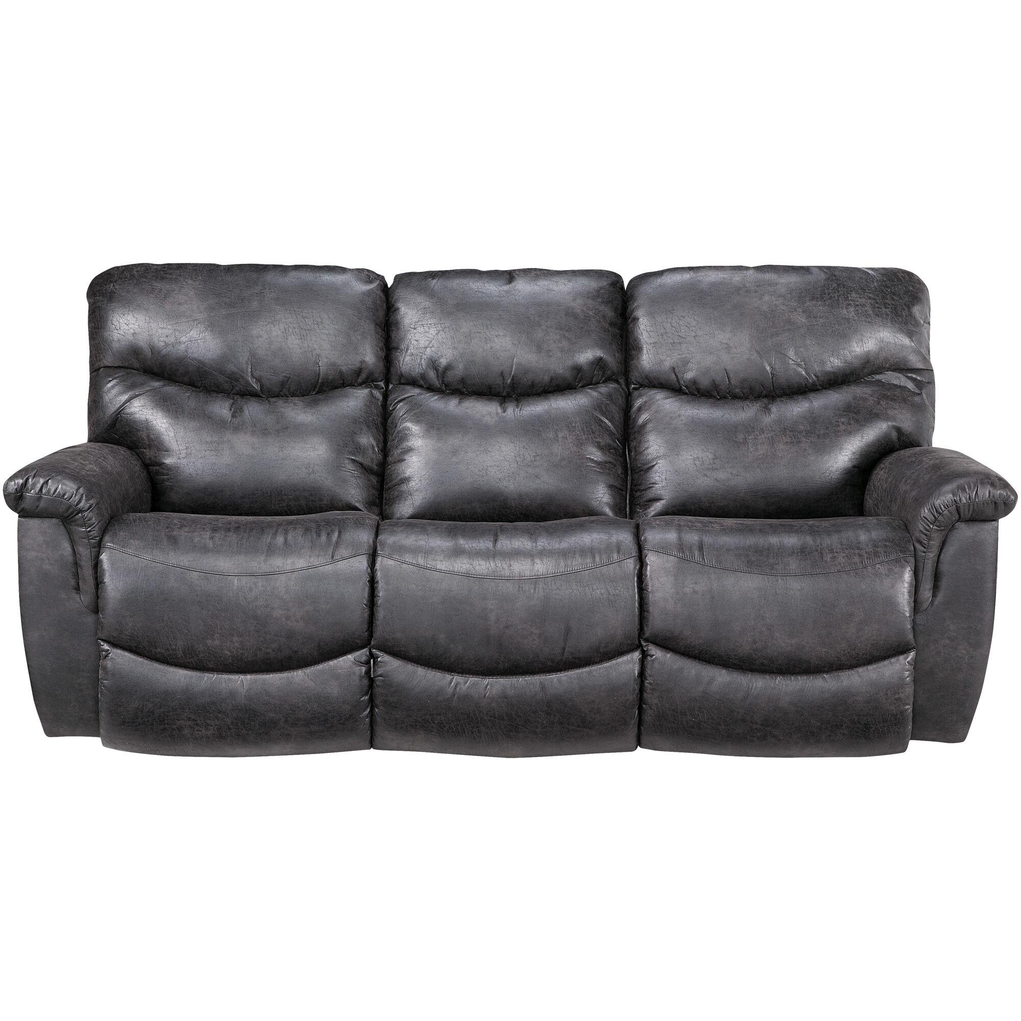 La Z Boy James Steel Sofa ...