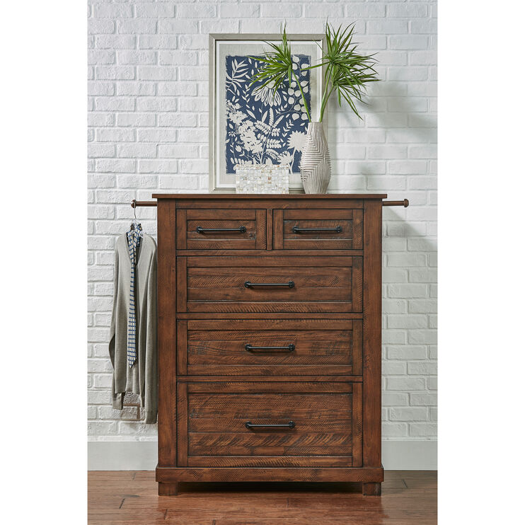 Sun Valley Rustic Timber Chest