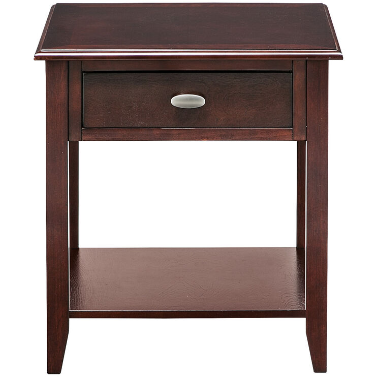 Radcliffe Merlot End Table