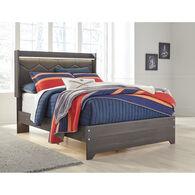 Annikus Gray Queen Bed