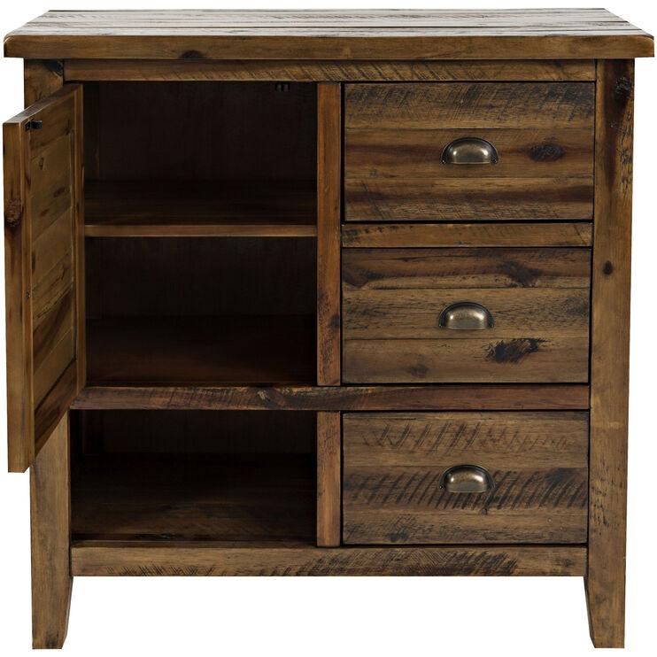 Artisans Craft Brown Accent Cabinet