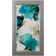 Blue Ribbon Blooms II Framed Art