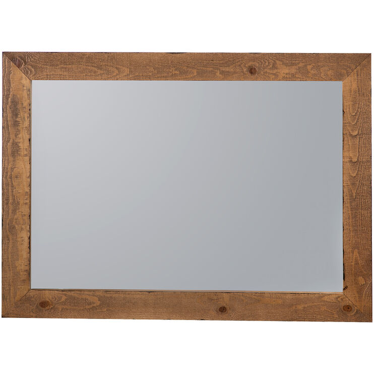 Willow Distressed Pine Mirror