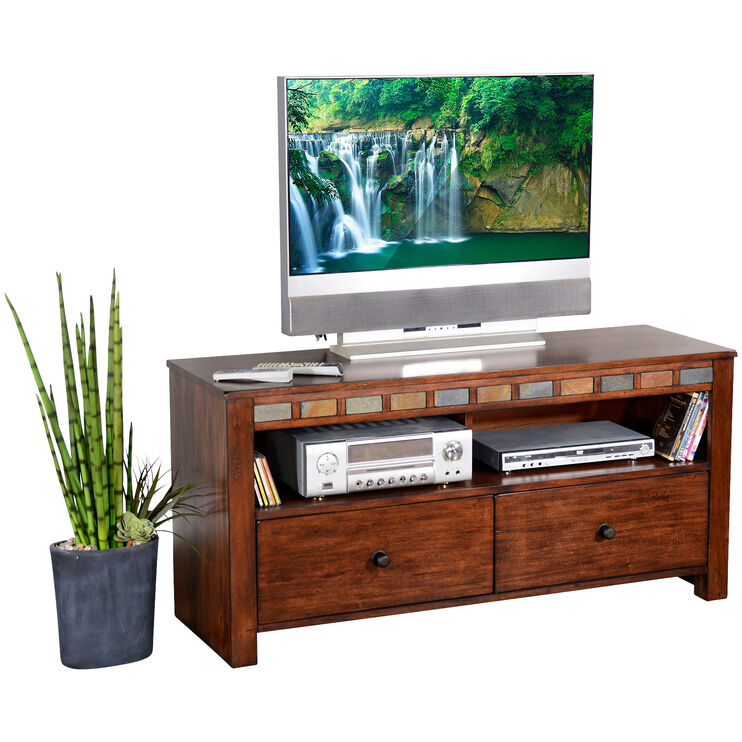 Sedona Dark Chocolate 54 Inch TV Console