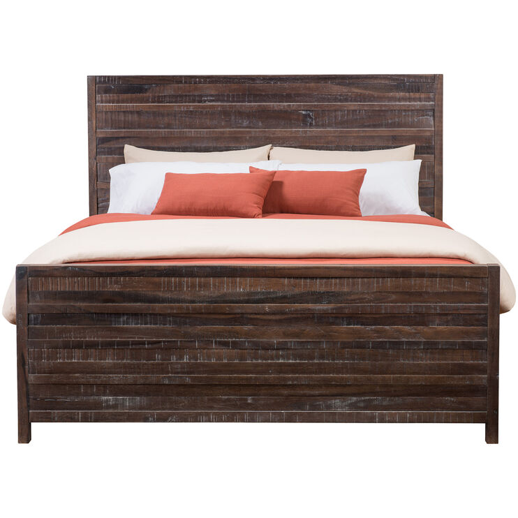 Townsend Nutmeg Queen Storage Bed
